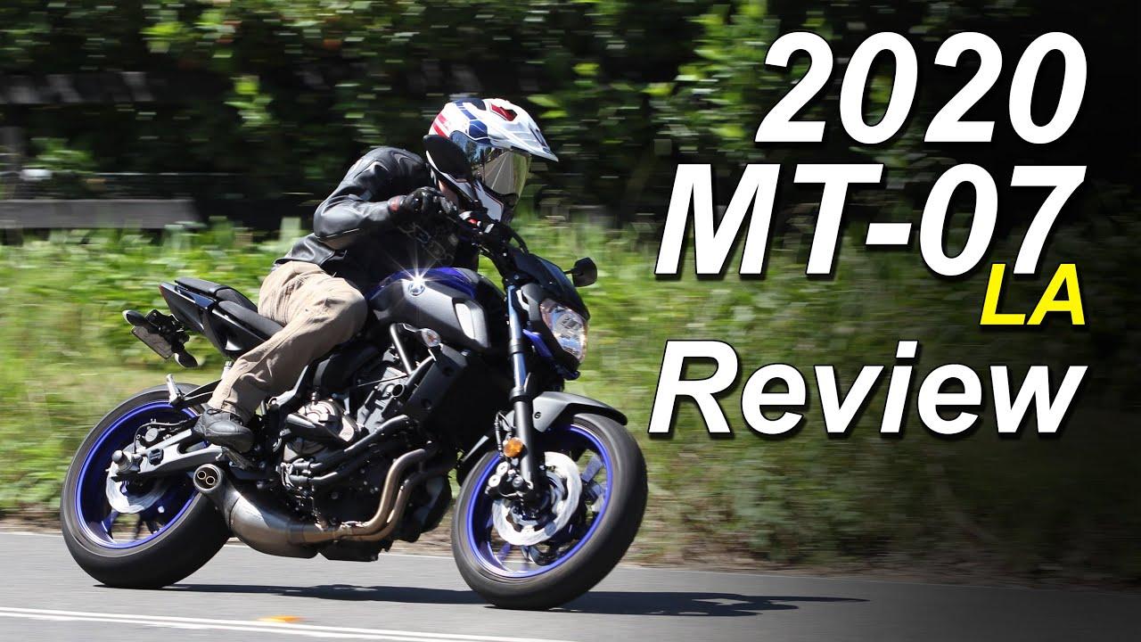 2020 Yamaha Mt 07 La Review Lams Edition Youtube