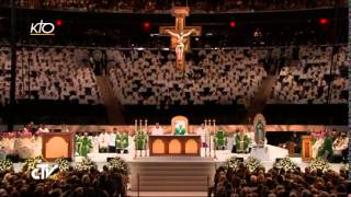 Messe du Pape François au Madison Square Garden de New York