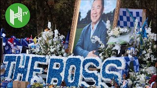 Leicester City fans pay brilliant tribute to Vichai Srivaddhanaprabha ahead of Burnley clash