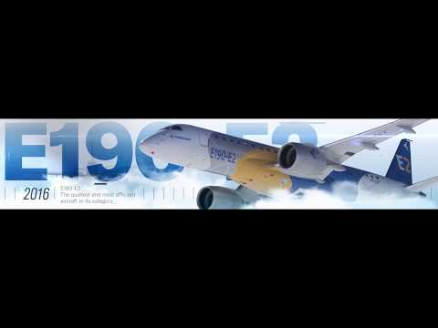 #Embraer 50-year timeline