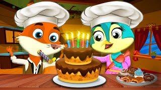 الكعكة السحرية | حكايات اطفال | حكايات أبلة فضيلة | قصص اطفال | قصص قبل النوم للاطفال