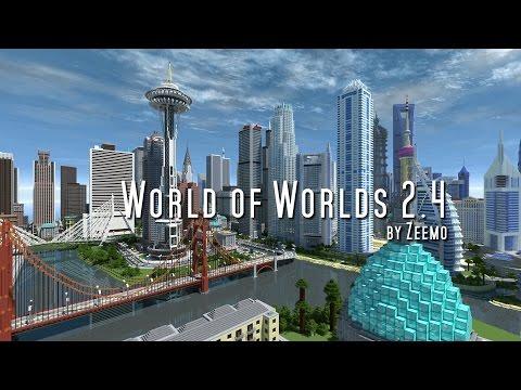 Minecraft | World Of Worlds 2.4