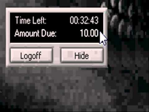 hacking computer (internet cafe Unlimited time hack)