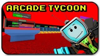 Roblox Arcade Tycoon 2nd Floor Expansion Update