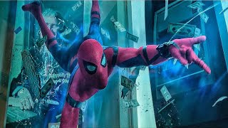 Человек паук Возвращение домой | Эмм человек паук дерётся с мстителями в банке на 21 улице
