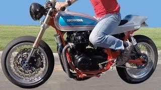 1975 Honda CB550 Cafe Racer Flat Tracker Style Not a CB750