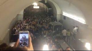 Сегодня! СРОЧНО! Авария в метро Москвы Ужасные кадры 18+