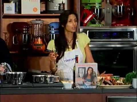 Tom Colicchio And Padma Lakshmi: Mushroom Flautas | Food & Wine