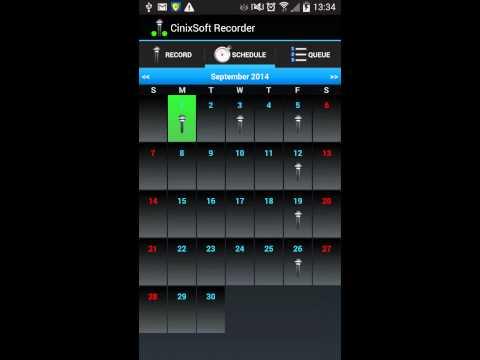 Schedule Voice Recorder