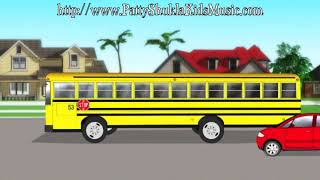 School Bus Kids Song | Nursery rhymes | Children's songs by Patty Shukla thumbnail