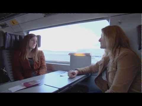 On board the Eurostar with Rail Europe