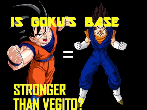 How strong is Goku's base form? Two Base Theory?