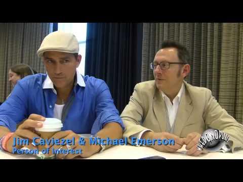 "Person of Interest - Michael Emerson - ""Harold Finch"" & Jim Caviezel ""John Reese"""