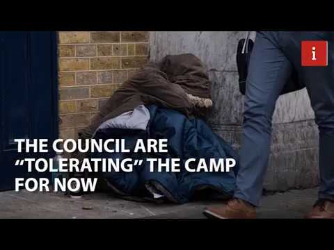 Inside Wrexham's 'shanty town': the camp for homeless ex-offenders