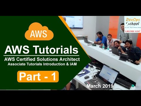 AWS Certified Solutions Architect Associate Tutorials   March 2019   Introduction & IAM   Part 1 thumbnail
