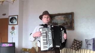 "Akkordeon - Midi-Demo - ""Muss i denn zum Städtele ..."" / (Wooden Heart) - Famous folk song"