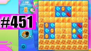 Candy Crush Soda Saga Level 451 NEW | Complete!
