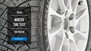 2018 Winter Tire Test - 205/55 R16 Studded