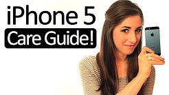 iPhone 5 Care & Cleaning Guide! How to Clean Your iPhone 5 (Clean My Space)
