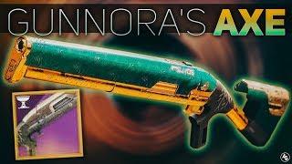 Gunnora's Axe Iron Banner Shotgun (Does Range even Matter?) | Destiny 2 Season of Opulence