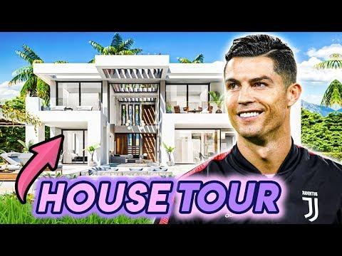 Cristiano Ronaldo   House Tour 2020   11 Million Dollar Mansion   Car Collection