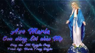 Ave Maria con dâng lời chào Mẹ _ Maria Trang Duyên (LX_AG)