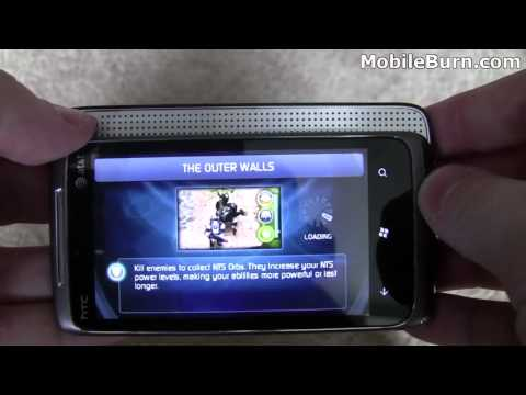 HTC 7 Surround for AT&T unboxing and feature tour