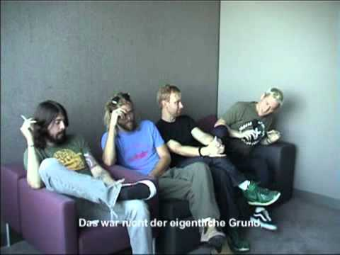 Foo Fighters - Interview Germany 2007