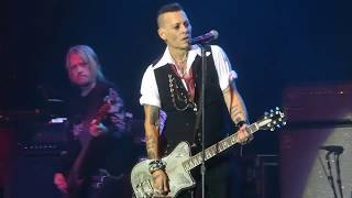 """People Who Died (Johnny Depp Vocals)"" Hollywood Vampires@Bethlehem, PA 5/21/18"