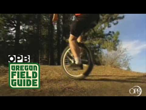 Oregon Field Guide | Mountain Unicycling | OPB