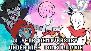 Undertale 4 Year Anniversary Comic Dub Compilation [AND BLOOPERS]