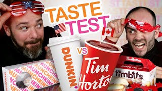 Dunkin' Donuts Vs. Tim Hortons…which One's Better!?