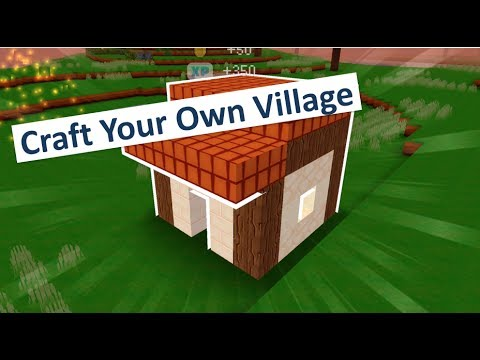 Block craft 3d new free city building game for ios for Block craft 3d online play