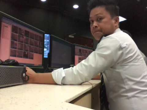 @ my work cctv control room