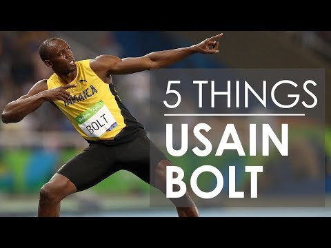 5 Things About Usain Bolt
