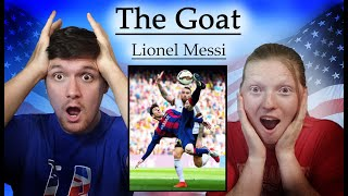 """Americans React to """"Lionel Messi - The Goat Movie - Official Movie"""""""