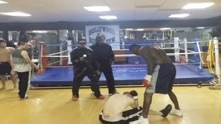 Champion Boxer Deontay Wilder Knocks Out Internet Troll In Real Life
