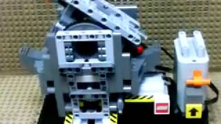 LEGO Reciprocating Motion 『往復運動』 レゴ シーソー モーター Seesaw motor mechanism