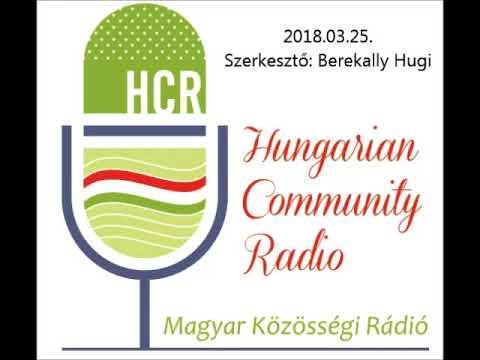 Magyar Kozossegi Radio Adelaide 20180325 Berekally Magdolna