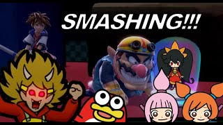 SUPER SMASH BROS CREW -  Anything Goes Crew of 5 Score: 87 - Warioware Get It Together