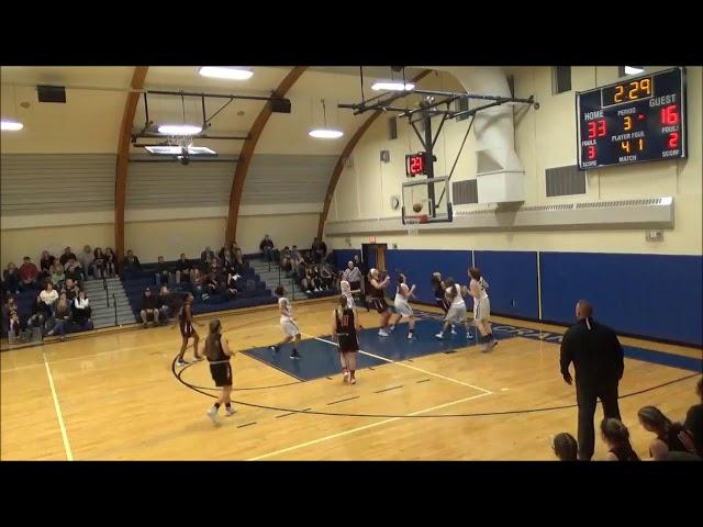 Game Highlights Girls' Varsity: Chatham 33 vs Ichabod Crane 52 (F)