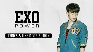 Video EXO (엑소) - Power [Line Distribution & Lyrics (Han/Rom/Eng)] download MP3, 3GP, MP4, WEBM, AVI, FLV Agustus 2018