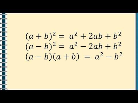 Formule de calcul prescurtat   Matera.ro