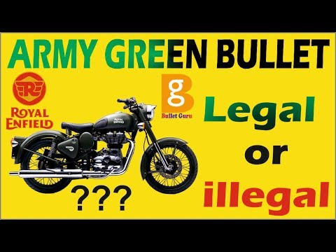 Army Green Bullet Is Legal