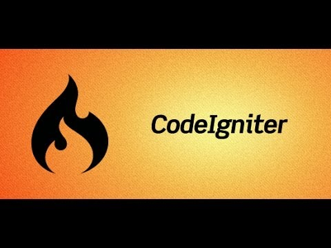 CodeIgniter Tutorial 2 - Intro to MVC Pattern