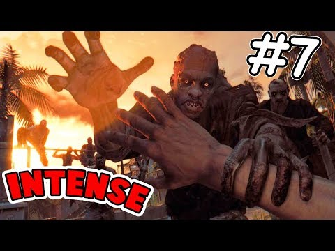 Too Much ACTION Today ! - Dying Light #7 (Insane Parkour and Savage Attacks)
