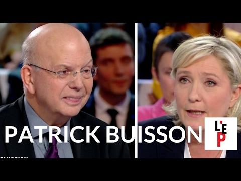 Patrick Buisson face à Marine Le Pen dans l'Emission politique sur France 2