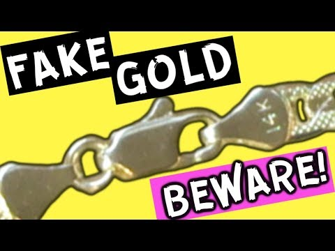 HOW TO SPOT FAKE GOLD - How To Know If Gold Is Real Or Fake At Home