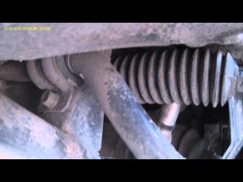 Работа втулки переднего стабилизатора Tucson правая
