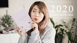 2020 Goals: PLAN WITH ME for the new year